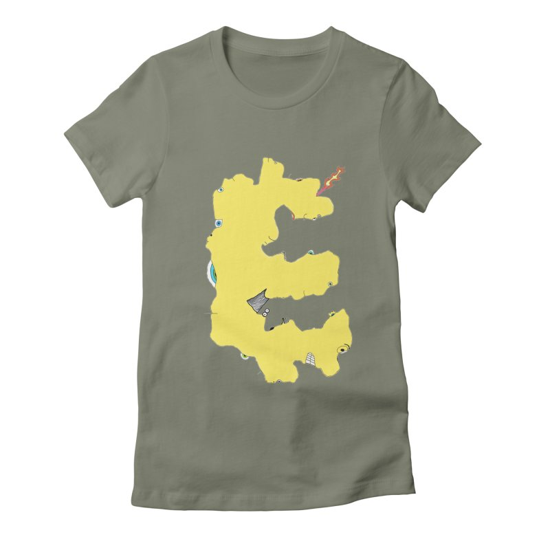 Face It (E) Women's Fitted T-Shirt by Face It, You Want This