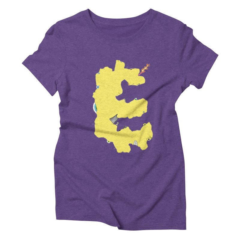 Face It (E) Women's Triblend T-shirt by Face It, You Want This