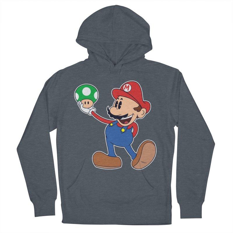 Pop Retrô Mario Men's Pullover Hoody by douglasstencil's Artist Shop