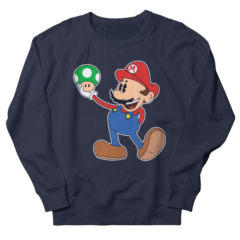 Pop Retrô Mario Women's Sweatshirt by douglasstencil's Artist Shop