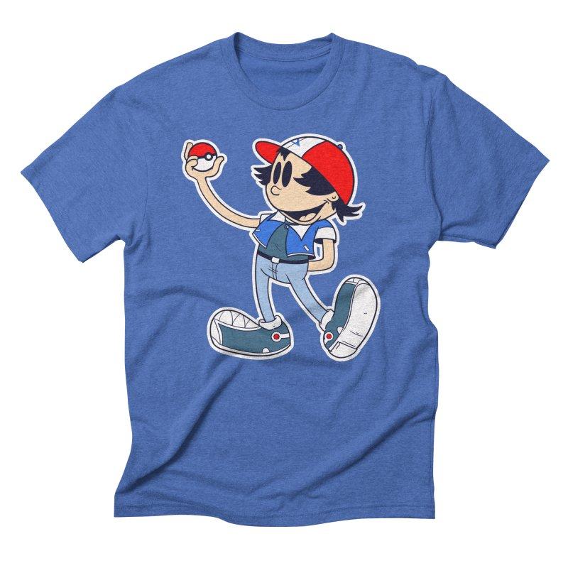 Pop Retro Ash Men's Triblend T-shirt by douglasstencil's Artist Shop