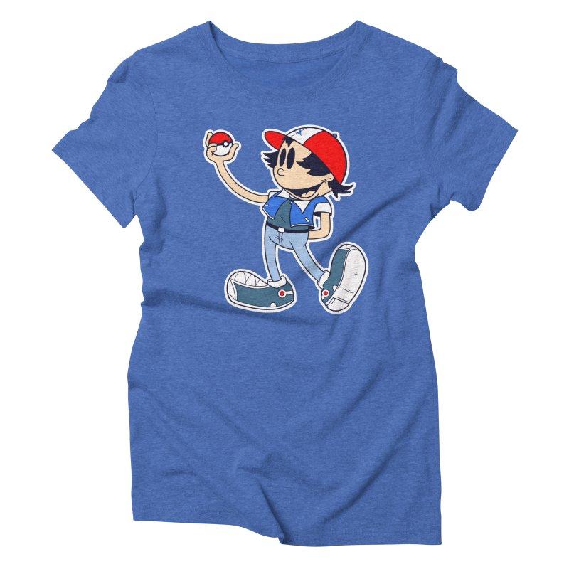 Pop Retro Ash Women's Triblend T-shirt by douglasstencil's Artist Shop
