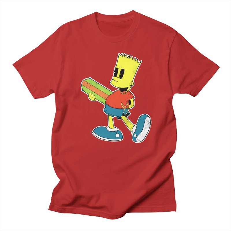 Pop Retro Bart Men's T-shirt by douglasstencil's Artist Shop