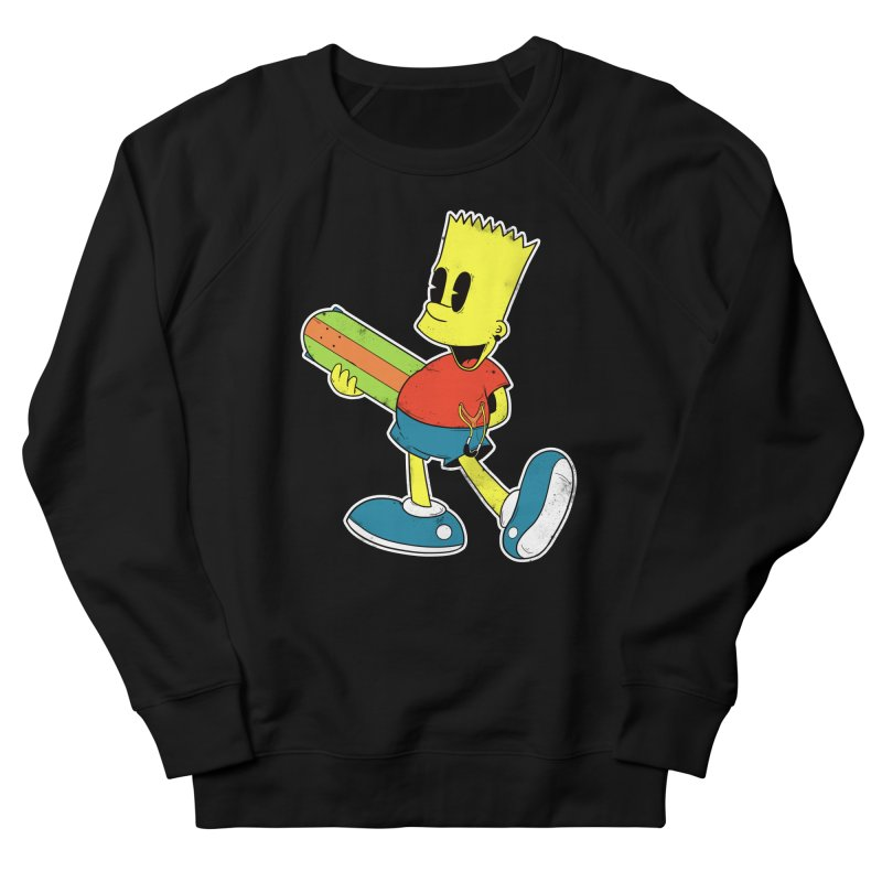 Pop Retro Bart Women's Sweatshirt by douglasstencil's Artist Shop