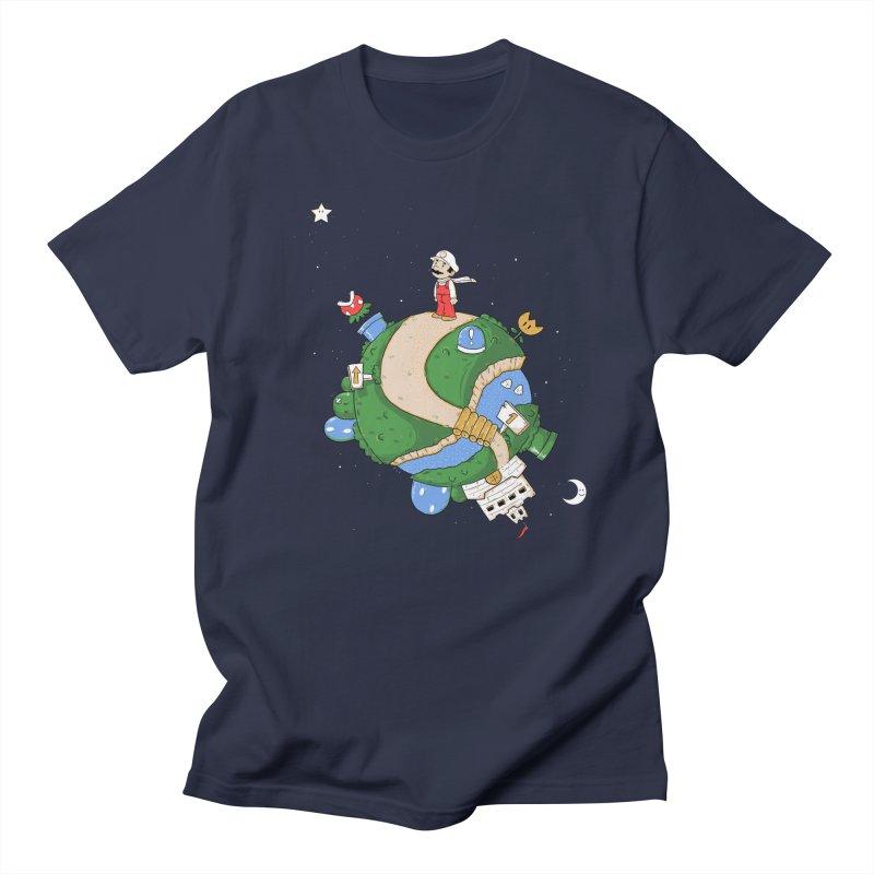 Little Mustachioed Men's T-Shirt by douglasstencil's Artist Shop