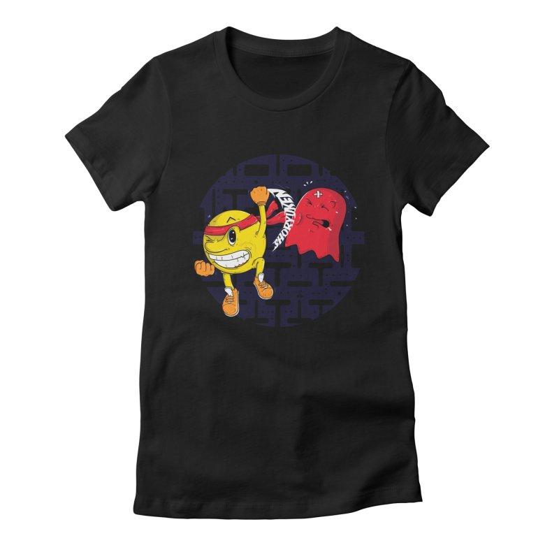 Final Round Women's Fitted T-Shirt by douglasstencil's Artist Shop