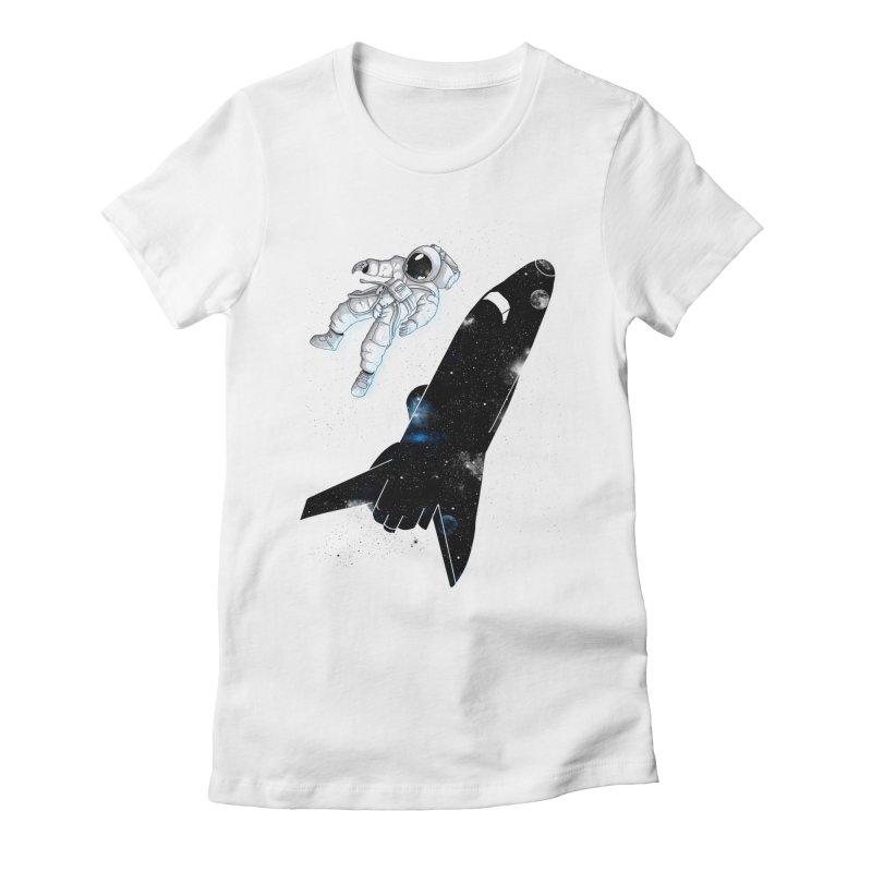 Inverse Women's Fitted T-Shirt by douglasstencil's Artist Shop
