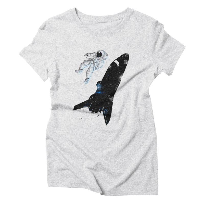 Inverse Women's Triblend T-Shirt by douglasstencil's Artist Shop