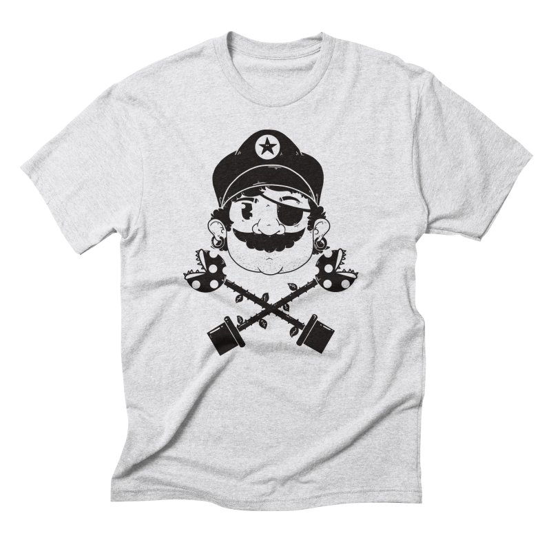 Captain Men's Triblend T-Shirt by douglasstencil's Artist Shop
