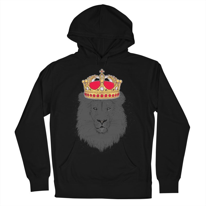 King Men's Pullover Hoody by douglasstencil's Artist Shop