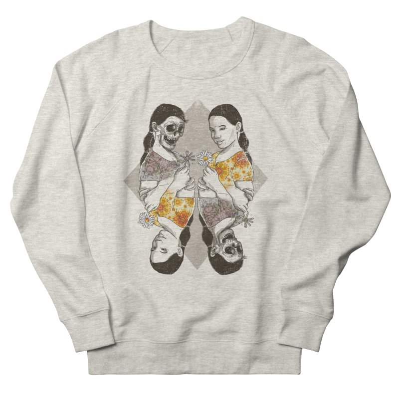 Two Sides Men's Sweatshirt by douglasstencil's Artist Shop