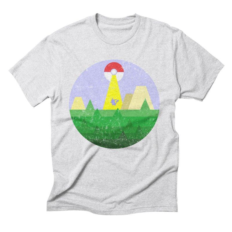 Abduction Men's Triblend T-Shirt by douglasstencil's Artist Shop