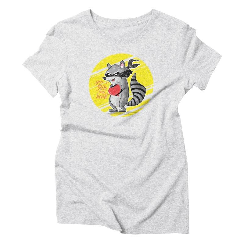 You Stole My Heart Women's Triblend T-Shirt by douglasstencil's Artist Shop