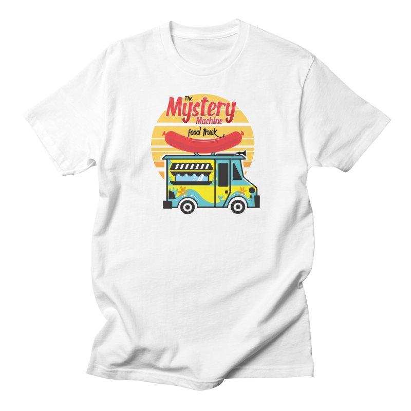 mystery Machine Men's T-Shirt by douglasstencil's Artist Shop