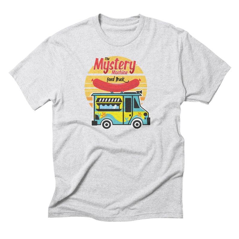 mystery Machine Men's Triblend T-Shirt by douglasstencil's Artist Shop