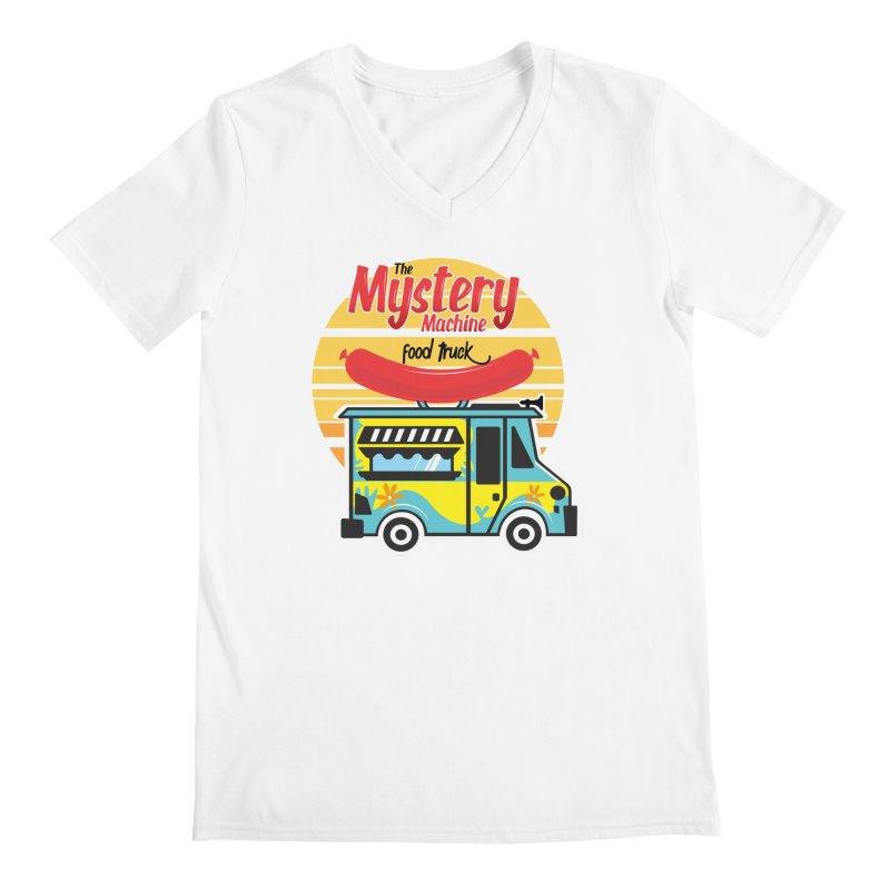 mystery Machine Men's V-Neck by douglasstencil's Artist Shop