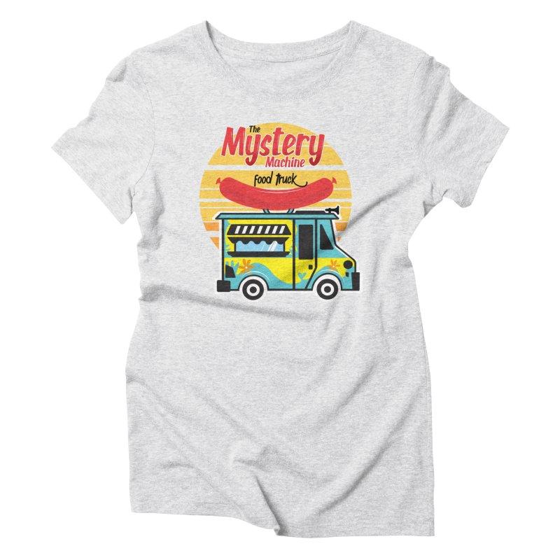 mystery Machine Women's Triblend T-Shirt by douglasstencil's Artist Shop