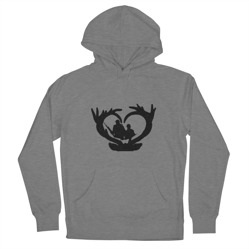 Hunting Heart Father and Child Men's Pullover Hoody by Dover Design Works' Artist Shop