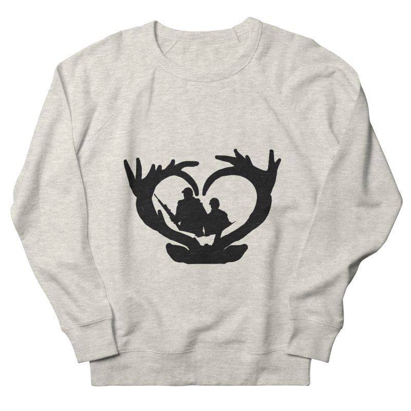 Hunting Heart Father and Child Men's Sweatshirt by Dover Design Works' Artist Shop