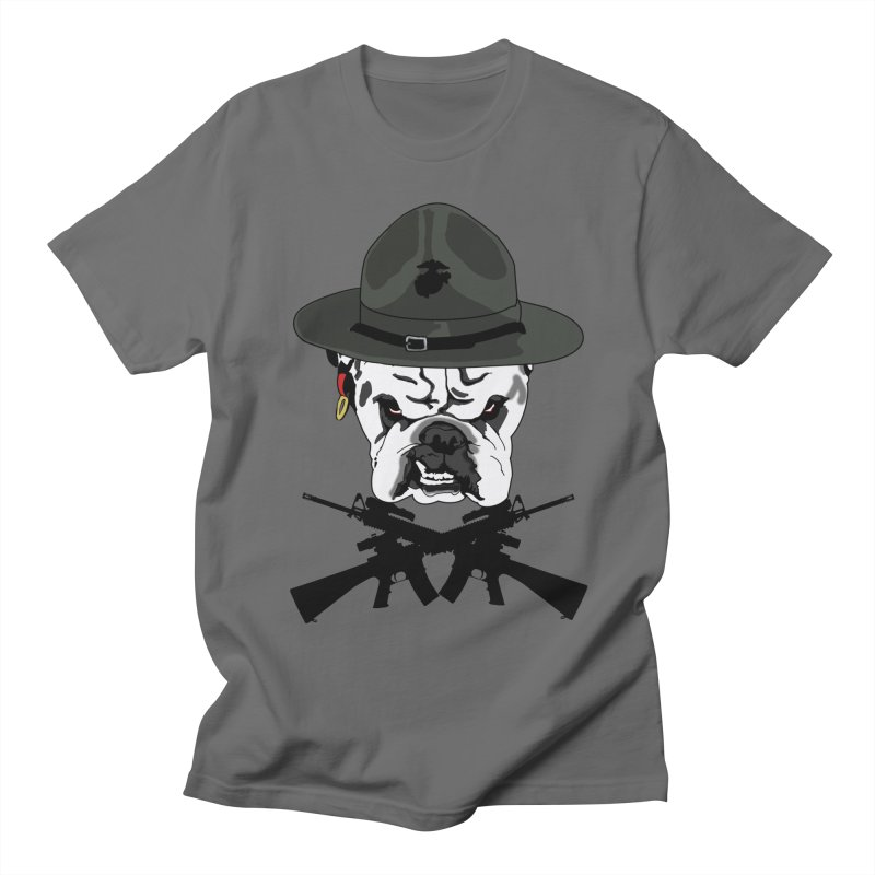 DI Devil Dog Men's T-Shirt by Dover Design Works' Artist Shop