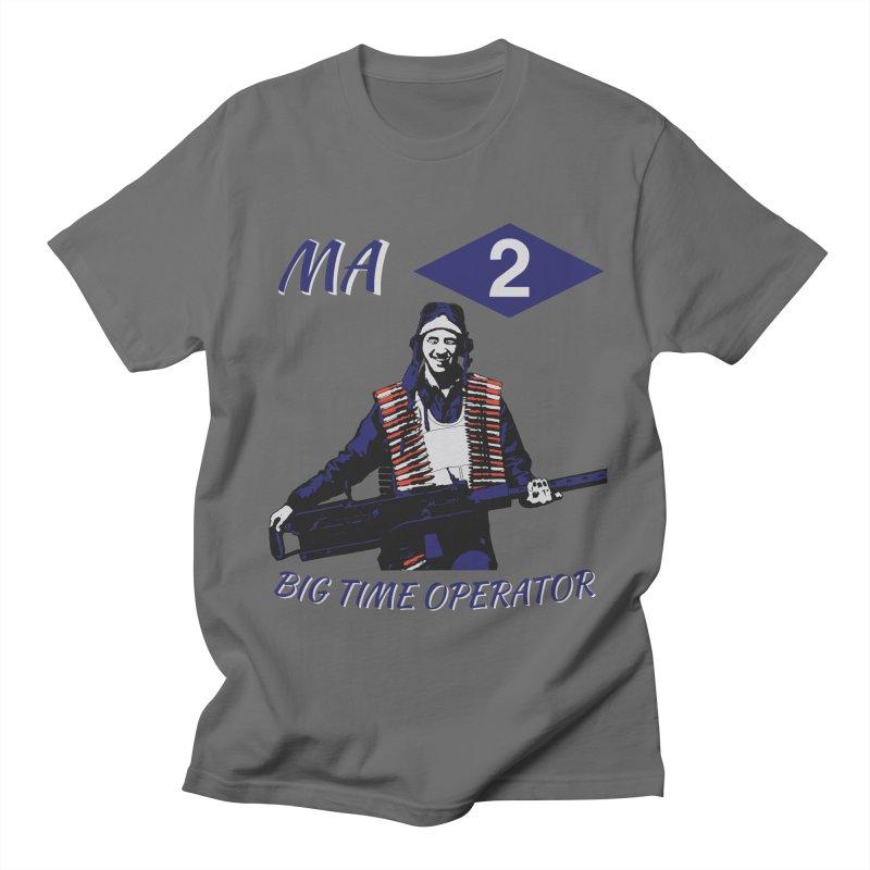 Big Time Operator Men's T-Shirt by Dover Design Works' Artist Shop