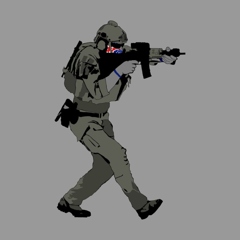 Tactical Operator Men's T-Shirt by Dover Design Works' Artist Shop