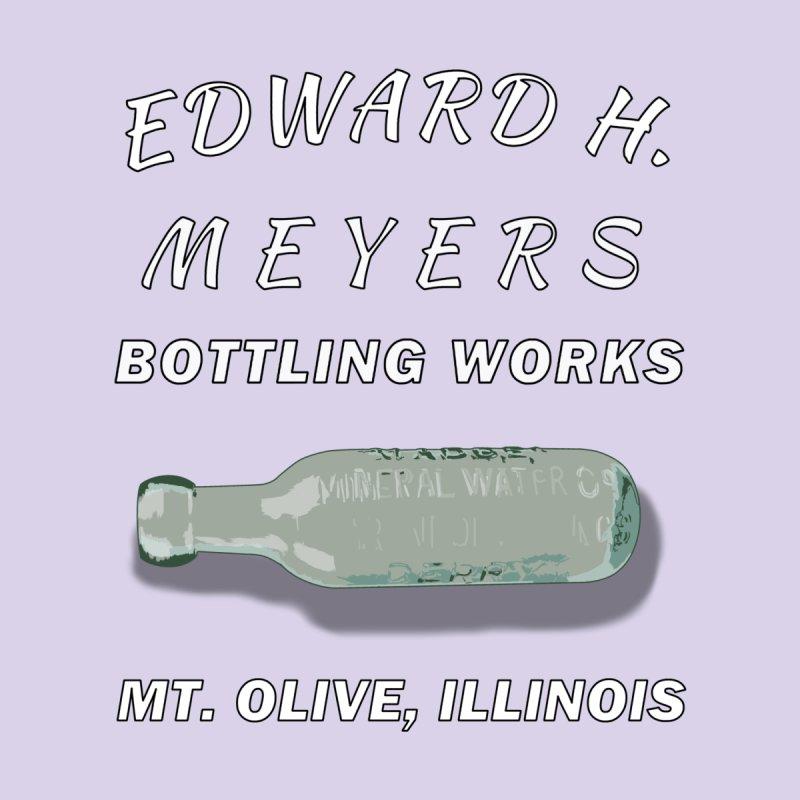 Edward Meyers Bottling Works Men's T-Shirt by Dover Design Works' Artist Shop