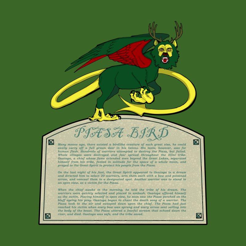 The Piasa Bird Legend Men's T-Shirt by Dover Design Works' Artist Shop