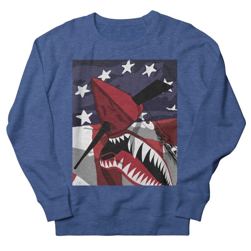 Fly Tiger Ghost Plane Men's Sweatshirt by Dover Design Works' Artist Shop