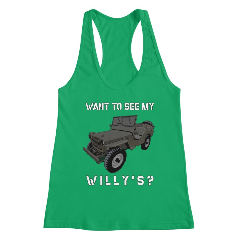 Want to see my Willy's Women's Tank by Dover Design Works' Artist Shop