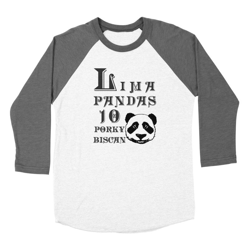 Lima Pandas Men's Longsleeve T-Shirt by Dover Design Works' Artist Shop