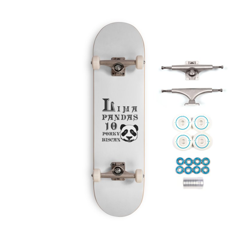 Lima Pandas Accessories Skateboard by Dover Design Works' Artist Shop