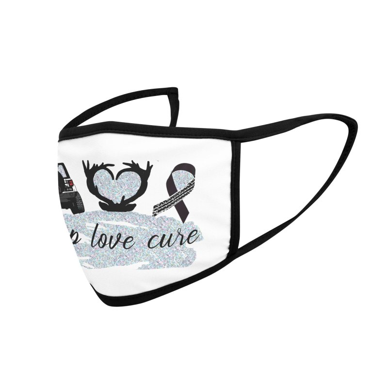 JEEP LOVE CURE Accessories Face Mask by Dover Design Works' Artist Shop