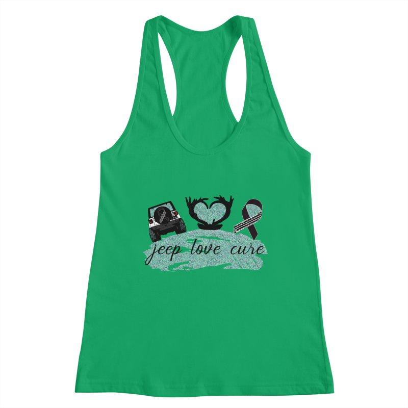 JEEP LOVE CURE Women's Tank by Dover Design Works' Artist Shop