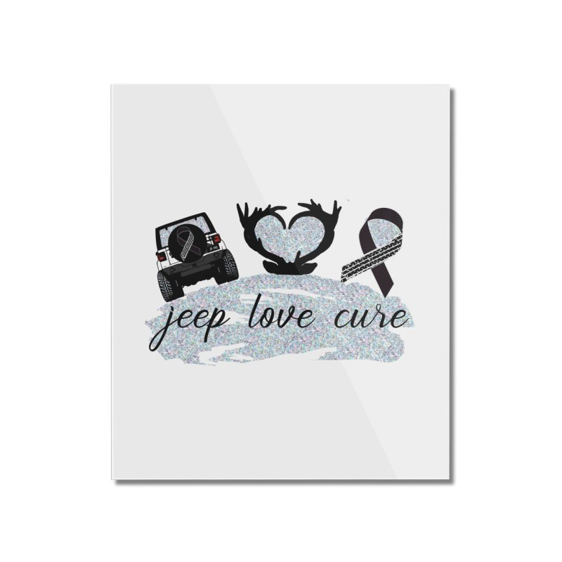 JEEP LOVE CURE Home Mounted Acrylic Print by Dover Design Works' Artist Shop