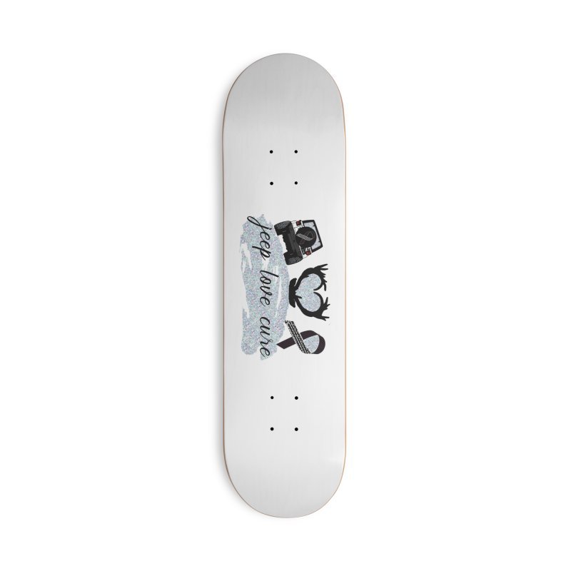 JEEP LOVE CURE Accessories Skateboard by Dover Design Works' Artist Shop