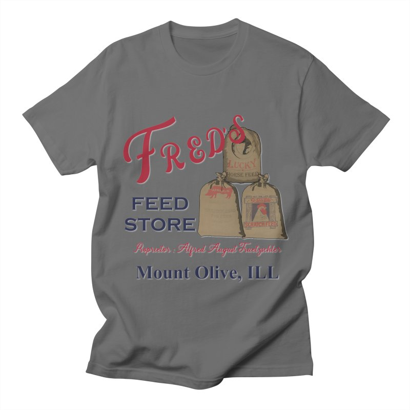Fred's Feed Store Women's T-Shirt by Dover Design Works' Artist Shop