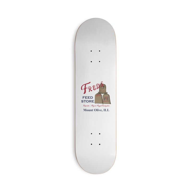 Fred's Feed Store Accessories Skateboard by Dover Design Works' Artist Shop
