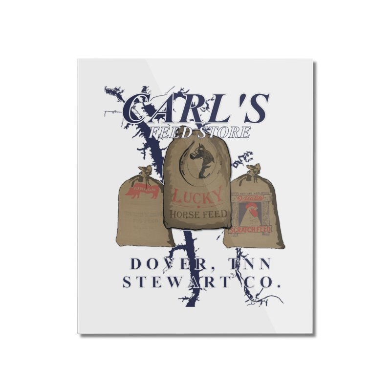 Carl's Feed Home Mounted Acrylic Print by Dover Design Works' Artist Shop