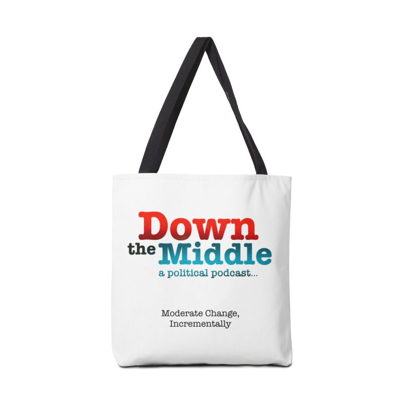 Down the Middle: A Political Logo Products Accessories Bag by downthemiddle's Artist Shop