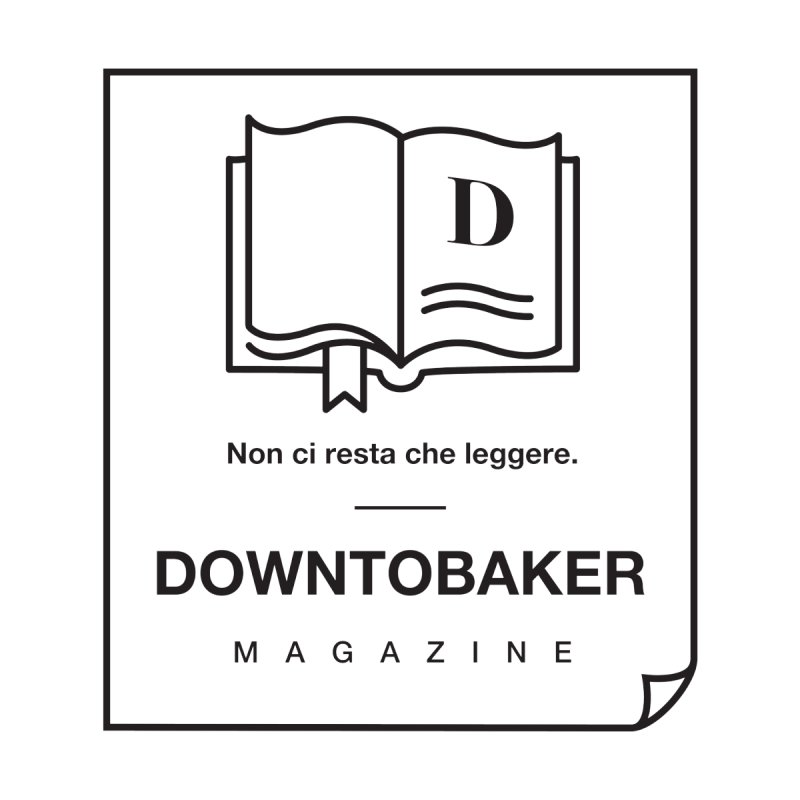 Downtobaker Black 'flap' Logo by Downtobaker Shop