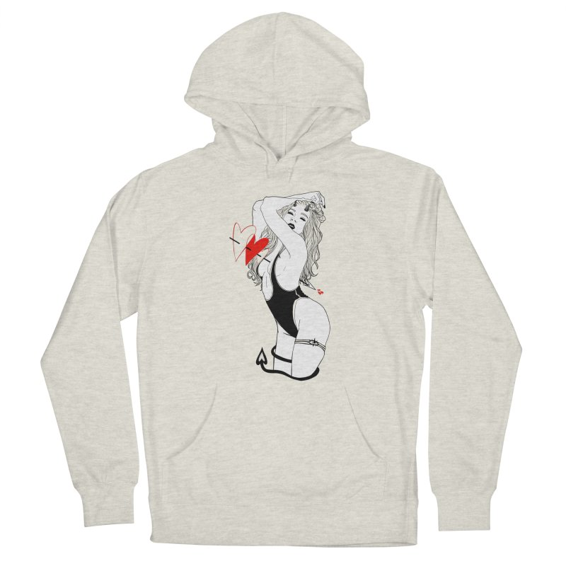 Be Mine Women's Pullover Hoody by designs by doxxi