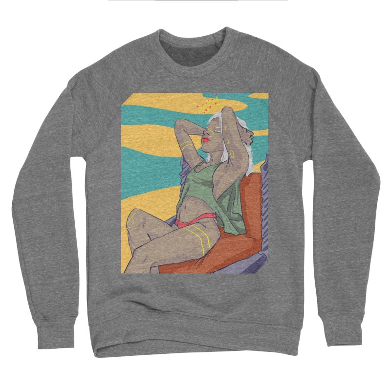 NEVER EVER SETTLE Women's Sweatshirt by designs by doxxi