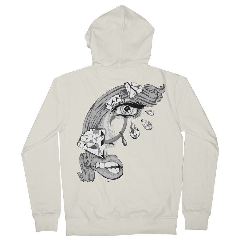 Bling Bling Women's Zip-Up Hoody by designs by doxxi