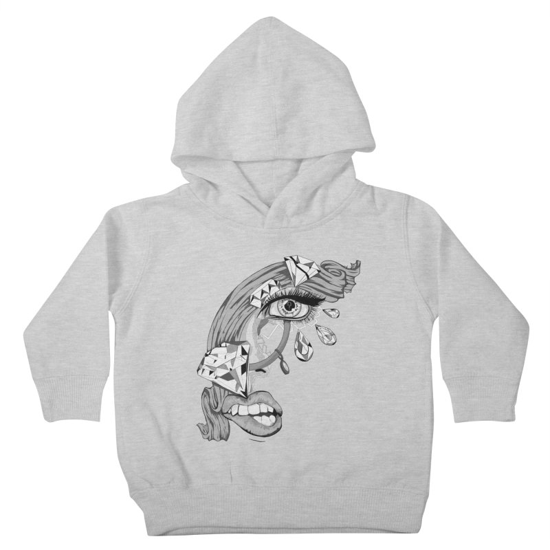 Bling Bling Kids Toddler Pullover Hoody by designs by doxxi