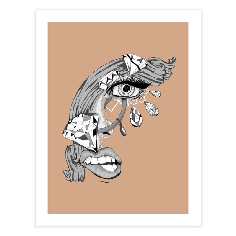 Bling Bling Home Fine Art Print by designs by doxxi