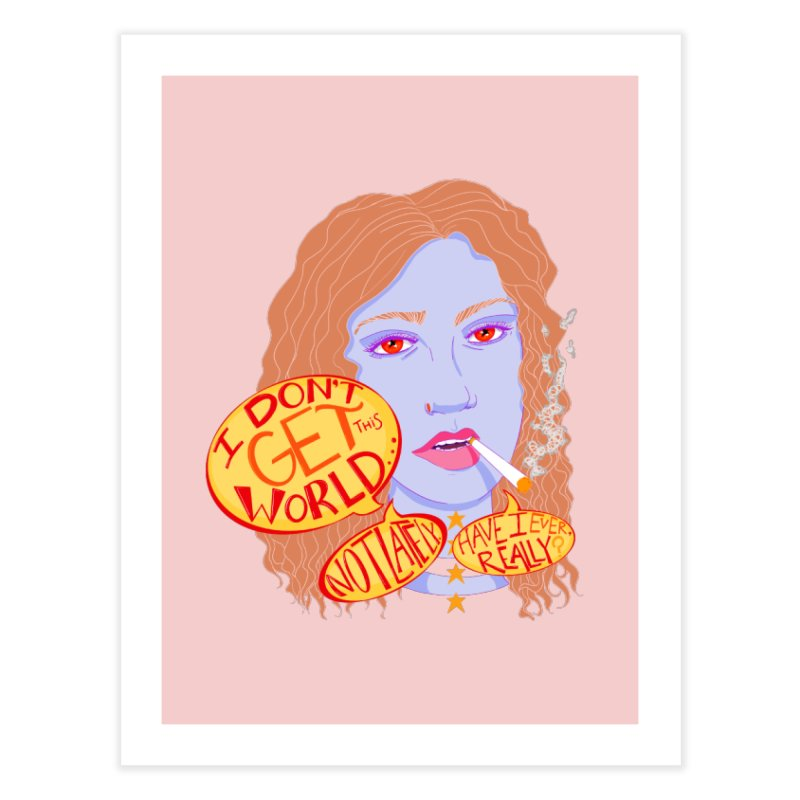 Welp Home Fine Art Print by designs by doxxi