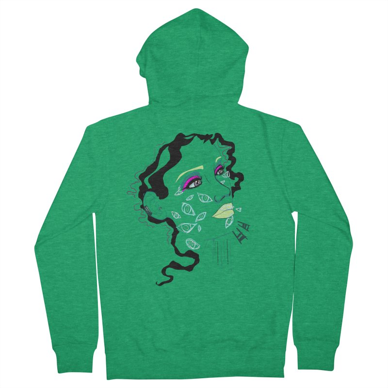 Barfly Women's Zip-Up Hoody by designs by doxxi