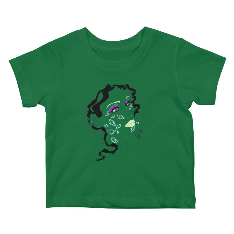 Barfly Kids Baby T-Shirt by designs by doxxi