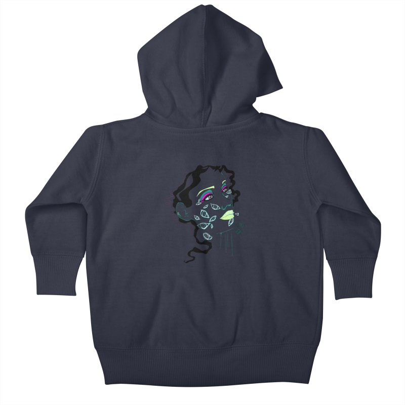 Barfly Kids Baby Zip-Up Hoody by designs by doxxi